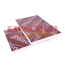 Poplar Waterproof Red film faced plywood
