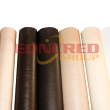 Wood Grain color Embossed PVC Film