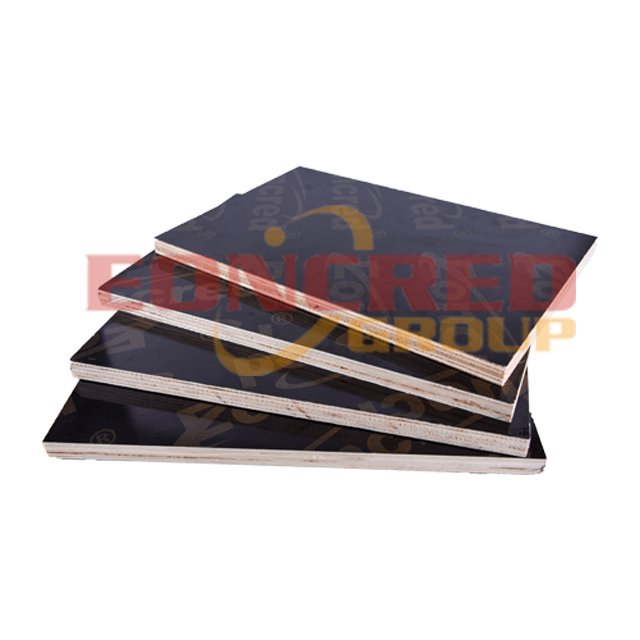 18mm Poplar Black Film Faced Plywood